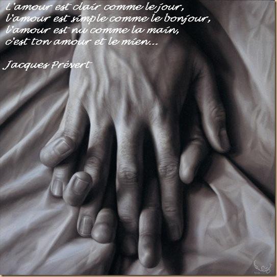 main de l'amour