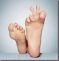 pied droit intelligent