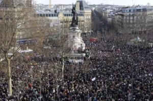 marche je suis Charlie photo AFP